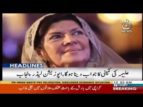 Headlines 12 AM | 10 December 2018 | Aaj News