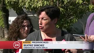 Beatriz Sánchez por franja: