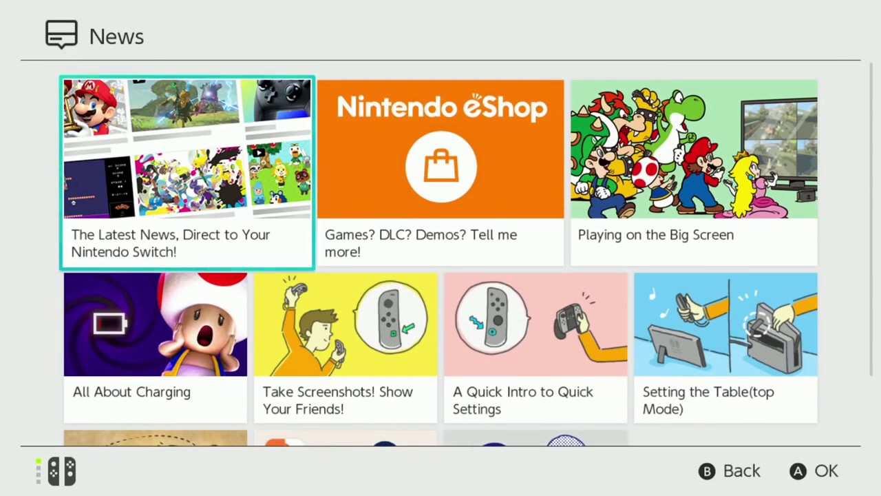 nintendo switch eshop online store youtube