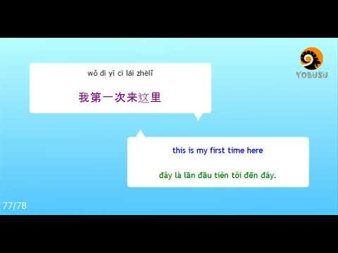 1000 câu tiếng Trung giao tiếp hằng ngày thông dụng nhất