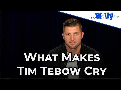 "Tim Tebow Talks His New Movie ""Run the Race"""