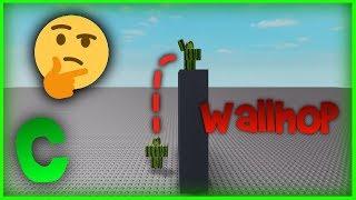 Roblox: Wallhop Tutorial