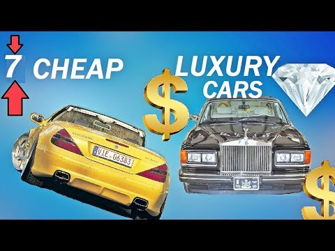 7 CHEAP Luxury Cars That Make You Look RICH AF!!