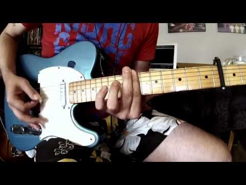 "Status Quo - ""Little Lady"" (Guitar-Cover) Rhythmguitar of Rick Parfitt"