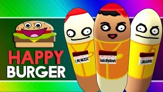 HAPPY BURGER! (Citizen Burger Disorder / Burger Simulator Funny Moments)