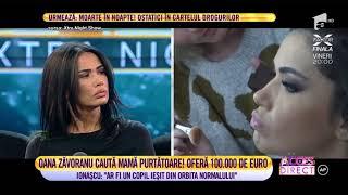 Oana Zăvoranu caută mamă surogat! Oferă 100.000 de euro