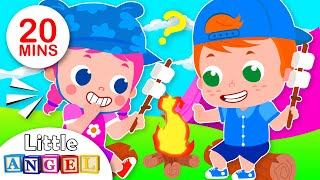 Baby Goes Camping | Pirate Potty, 5 Little Puppies | Kids Songs & Nursery Rhymes by Little Angel