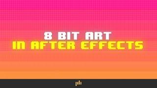 إنشاء 8 بت بكسل الفن في After Effects | PremiumBeat.com