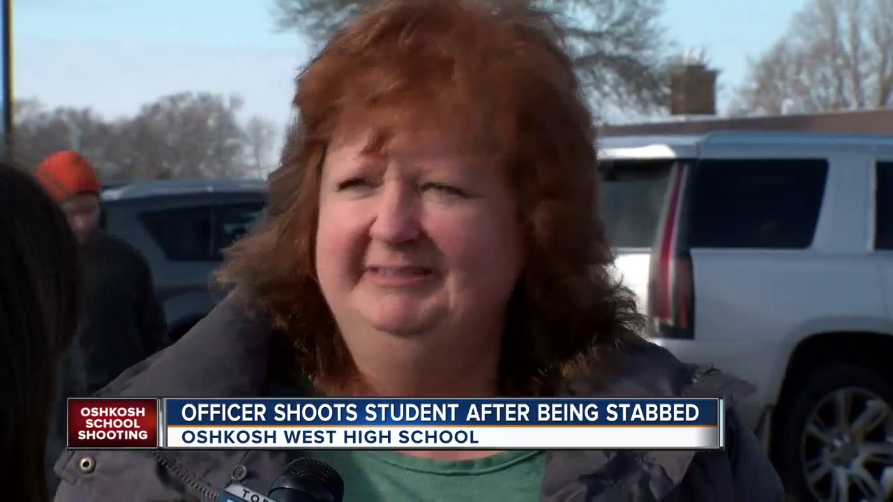 Oshkosh West High School: Student shot by officer day after another ...