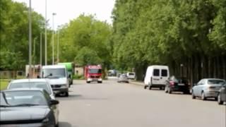 Brandweer Antwerpen - 1 Zuid voor brand gebouw E. Claesstraat 2050
