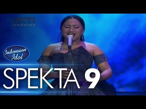 MARIA - NEVER ENOUGH (Loren Allred) - Spekta Show Top 7 - Indonesian Idol 2018