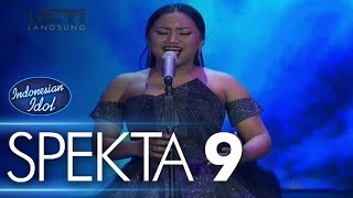 Gambar cover MARIA - NEVER ENOUGH (Loren Allred) - Spekta Show Top 7 - Indonesian Idol 2018