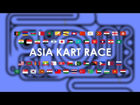 Continents Kart Race - Asia