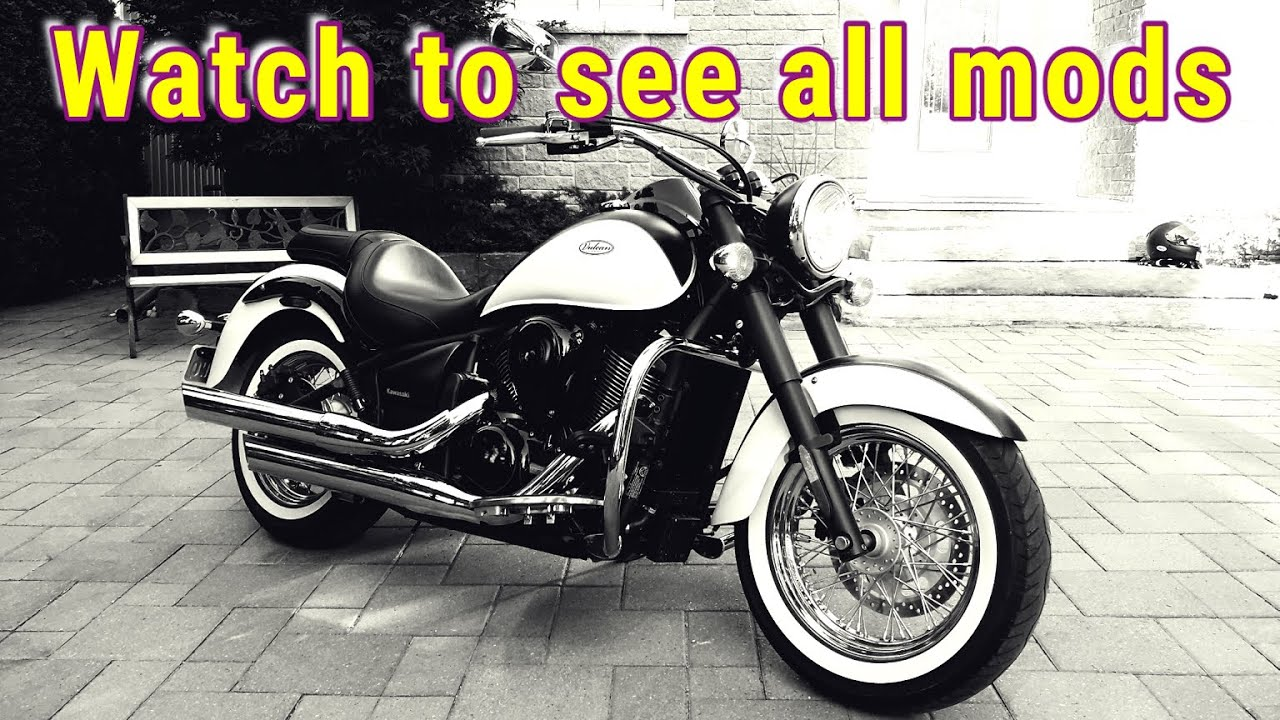 Kawasaki Vulcan 900 Upgrades And Mods For Safety And Comfort