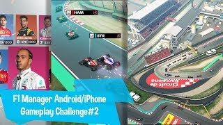 F1 Manager Android Gameplay Challenge#2 Android/iSO