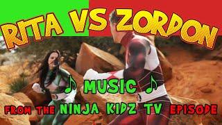 POWER RANGERS NINJA KIDS - RITA VS ZORDON - ACTION MUSIC from the episode