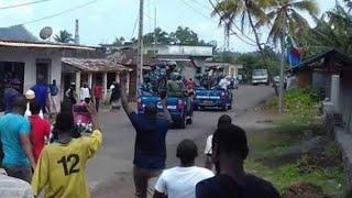 Les gendarmes chassés de Vouvouni par les villageois