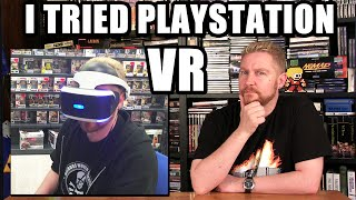 I TRIED PLAYSTATION VR! - Happy Console Gamer