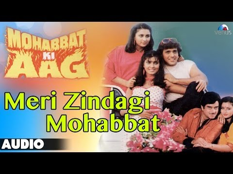 Mohabbat Ki Aag : Meri Zindagi Mohabbat Full Audio Song | Govinda, Kimi Katkar |