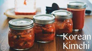 Easy Homemade Kimchi 自制韩式泡菜