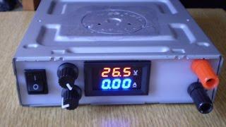 видео ИБП из электронного трансформатора