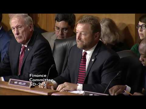 Heller Pushes for Full Repeal of Cadillac Tax in  Senate Finance Committee