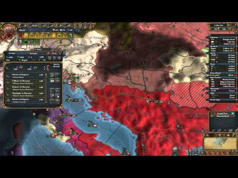 Let's play EU4 as Albania (ironman) part 23: ALBANIA TOTAL WAR