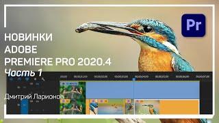 Scene edit detection Новинки Adobe Premiere Pro 2020 4 Дмитрий Ларионов