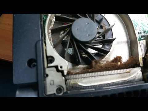 Dell Studio XPS overheating Fix ! Clean Out Fan