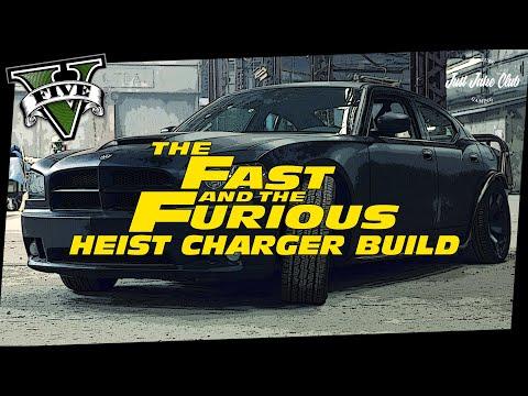 FAST & FURIOUS 5: DODGE HEIST CHARGER CUSTOM CAR BUILD TUTORIAL (GTA 5 ONLINE BUFFALO S)