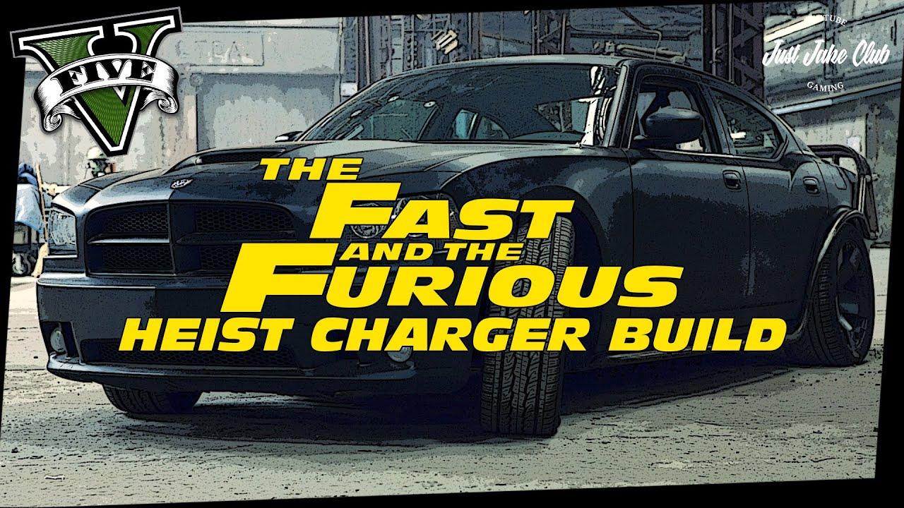 Fast Amp Furious 5 Dodge Heist Charger Custom Car Build