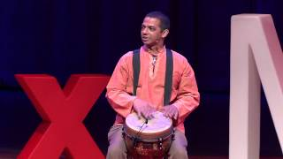 Drumming for Wellness: Jeff Deen at TEDxMiami 2013 BE THE DIFFERENCE
