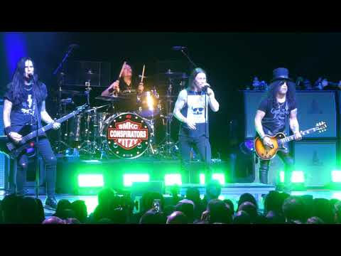"""Driving Rain"" Slash@Wellmont Theatre Montclair, NJ 10/1/18"