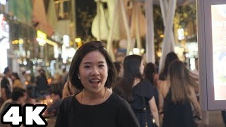 Clarke Quay Singapore | Raw Footage of Nightlife, People, Food and Music | Travelicious