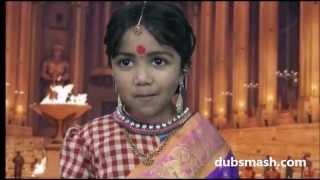 Bahubali(Telugu) Sivagami Dubsmash by Sameeksha Sajjana( 4 years)