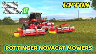 Farming Simulator 2017 | Mowing With A Massey Ferguson 7180 On Upton | 4k 60FPS