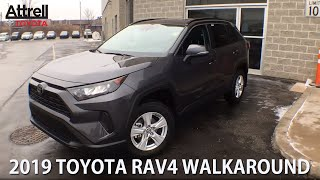 2019 Toyota RAV4 AWD LE Package Walkaround - Brampton ON - Attrell Toyota