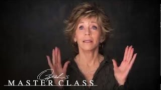 Jane Fonda on Learning to Forgive Yourself - Oprah