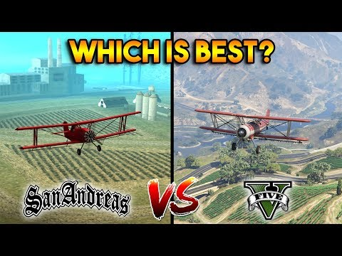 GTA 5 DUSTER VS GTA SAN ANDREAS DUSTER : WHICH IS BEST?