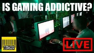 is gaming addictive with omfgcata aka jesse cox dave chaos dan maher and more truthloader live