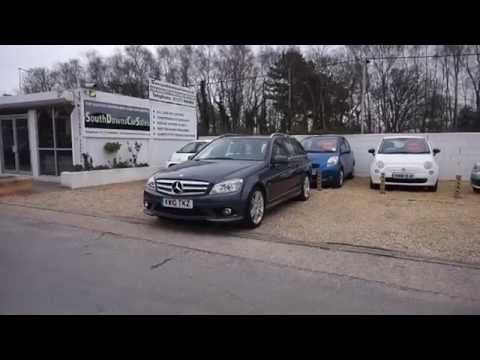 Mercedes C180 Tourer CGi Blue Eff for sale at South Downs Car Sales Ltd in Hassocks