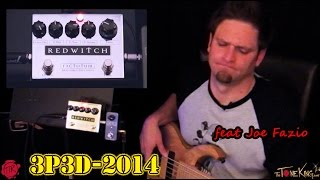 BASS PEDAL DEMO : RED WITCH FACTOTUM by Joe Fazio : 3P3D