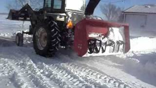 Snow Removal After the biggest snow storm in Wisconsin