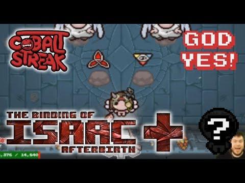 Afterbirth+ Random Streaks! 6-0 - God Yes! - Cobalt Streak