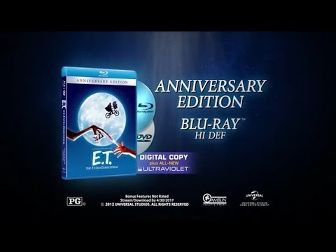 Download E.T., The Extra-Terrestrial (1982) 2012 30th Anniversary Blu-ray Disc trailer