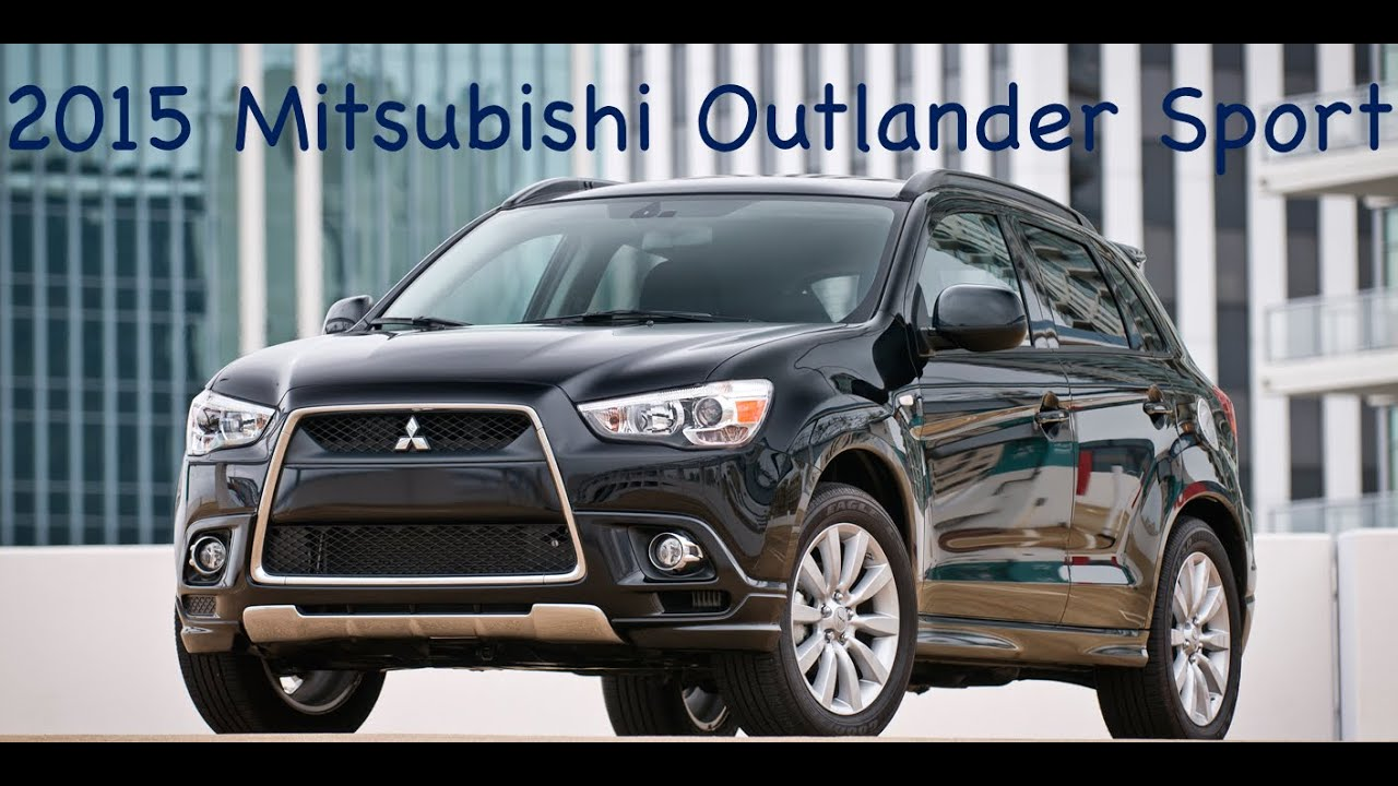 2015 Mitsubishi Outlander Sport (Review)   YouTube