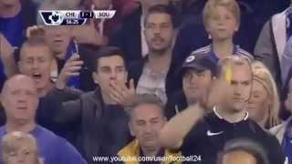 チェルシーFC - サウサンプトンFC 1-3 ゴールハイライト 2015/10/04.