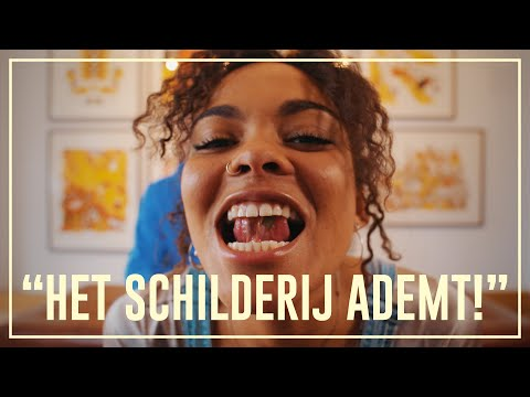 Dzifa takes LSD in an art gallery | Drugslab