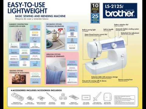 Brother LS40i Reviews Brother LS40i Sewing Machine LS40i Stunning How To Thread A Brother Ls 2125i Sewing Machine