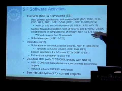 Software as Infrastructure at NSF/OCI
